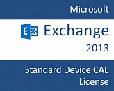 Microsoft Exchange Server 2013 Standard CAL Single OLP NL Device License